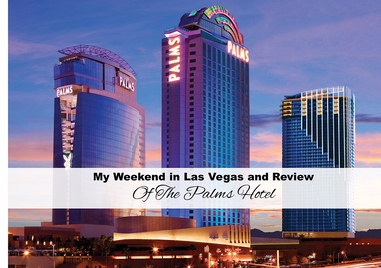 My Weekend in Las Vegas and Review of The Palms