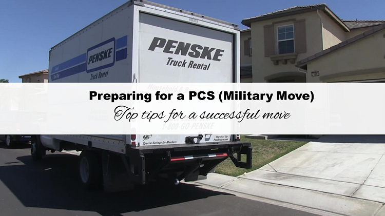 Preparing for a PCS: Top tips to a successful move