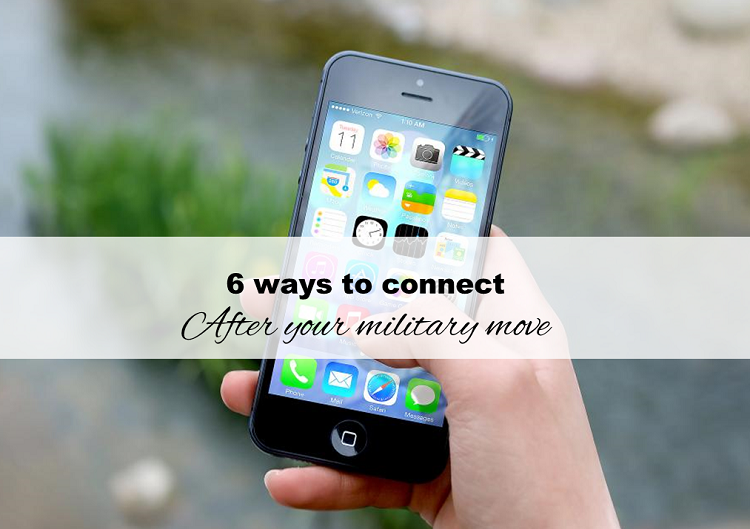 6 ways to connect after your military move