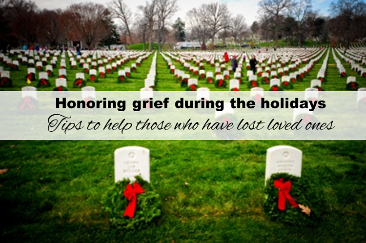 Honoring grief during the holidays